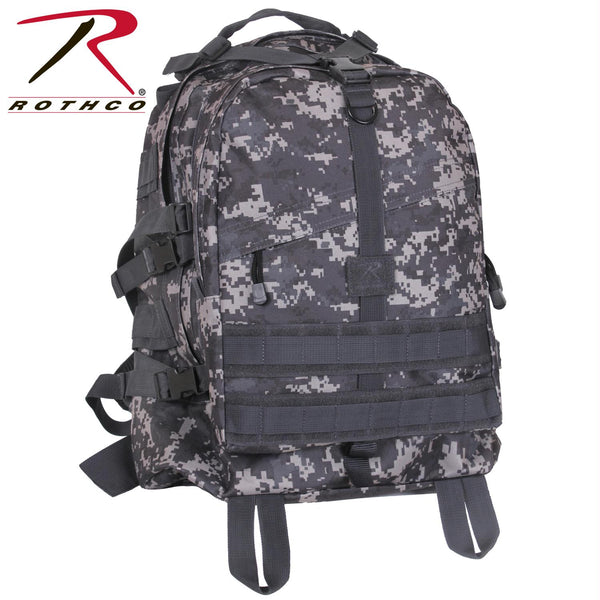 Rothco Large Camo Transport Pack - Balog Combat Systems (BCSTACTICAL), Woodland Camo