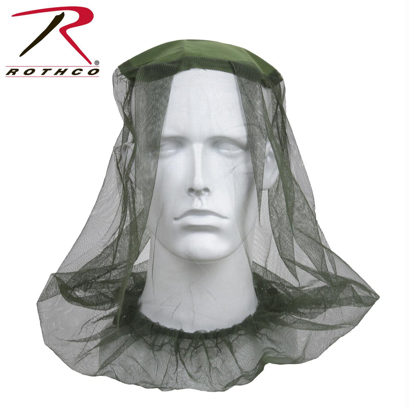 Rothco Mosquito Head Net - Balog Combat Systems (BCSTACTICAL), Camping & Survival Gear