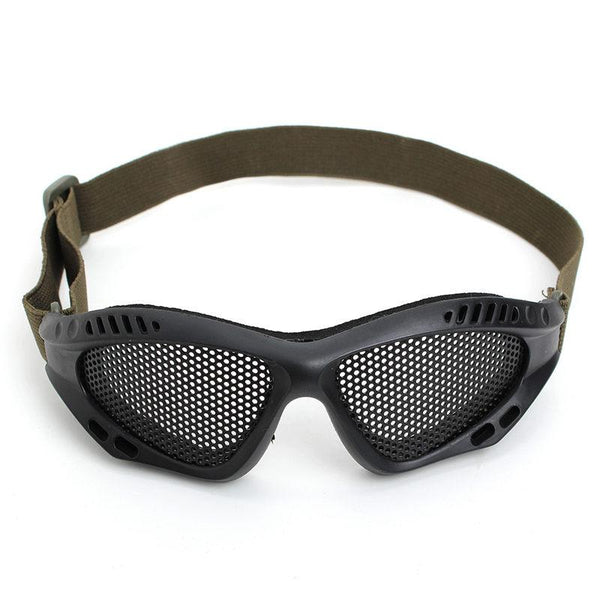 10pcs A Lot PVC Metal Mesh Eyeglasses - Balog Combat Systems (BCSTACTICAL),