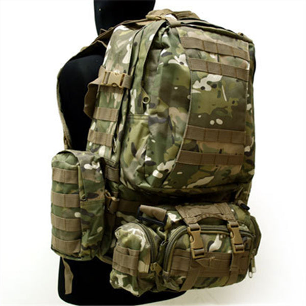 outdoor military tactical backpack US Army Tactical Molle Assault Backpack Bag Multicam ACU Dark Green BK - Balog Combat Systems (BCSTACTICAL),