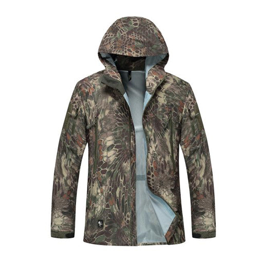 men jacket military clothing hardshell clothes camouflage army autumn jacket and coat for men multicam windbreaker coat - Balog Combat Systems (BCSTACTICAL),