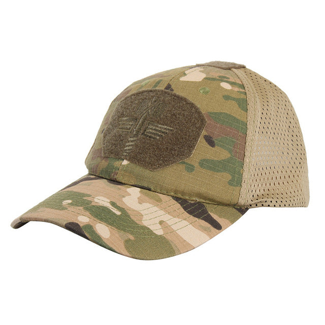 New Arrival Unisex Men 4 Colors Multicam Camo Outdoor Tactical Cap Adjustable Military Sports Hunting Hiking  Caps Hats - Balog Combat Systems (BCSTACTICAL),