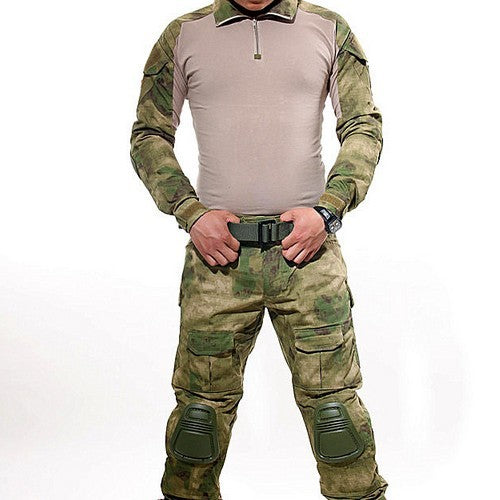 Multicam Combat Uniform w/ knee pads - Balog Combat Systems (BCSTACTICAL),
