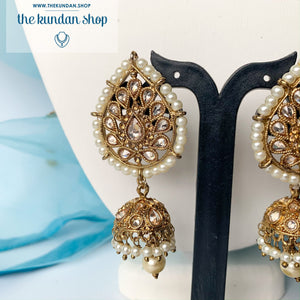 New Beginnings - Pearl, Necklace Sets - THE KUNDAN SHOP