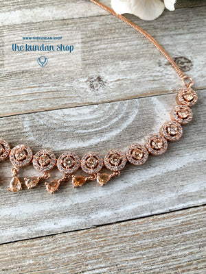 Evening Elegance - Round, Necklace Sets - THE KUNDAN SHOP