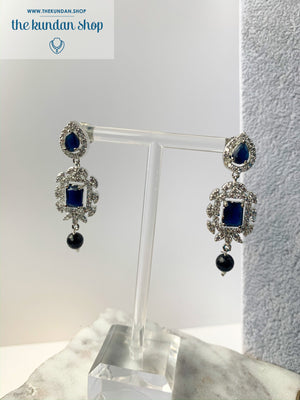 After Hours in Sapphire, Necklace Sets - THE KUNDAN SHOP