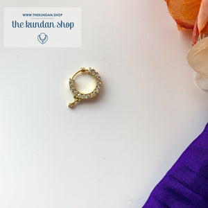 Statement Nose Ring, Naath - THE KUNDAN SHOP