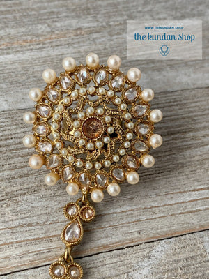 Invested Haathphool Ring THE KUNDAN SHOP