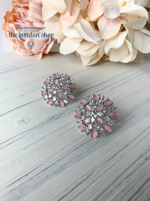 Signs of Pink, Earrings - THE KUNDAN SHOP