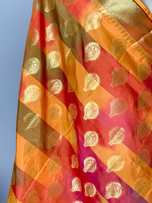 Watching the Sunset Banarsi Dupatta
