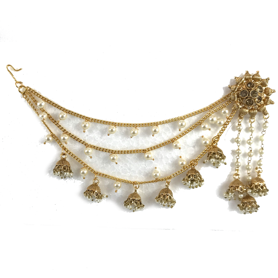 Sahara'n Pair, Sahara Earrings - THE KUNDAN SHOP
