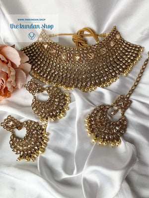 Flourish in Pearl Necklace Sets THE KUNDAN SHOP