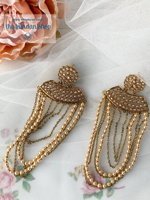 Admirable, Earrings - THE KUNDAN SHOP