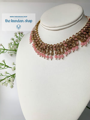 Polki Gems, Necklace Sets - THE KUNDAN SHOP