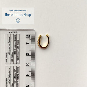 Clip-On AD Stone Naath, Naath - THE KUNDAN SHOP