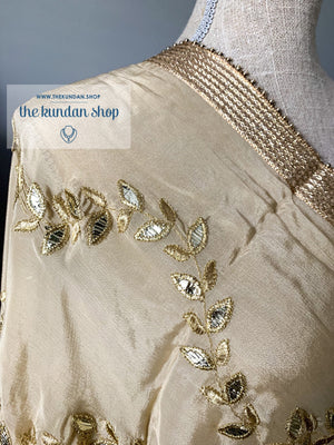 Gota Patti Leaves Dupatta THE KUNDAN SHOP