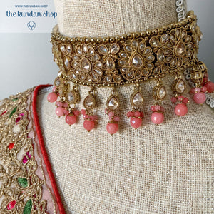 Empowered - Pink Necklace Sets THE KUNDAN SHOP