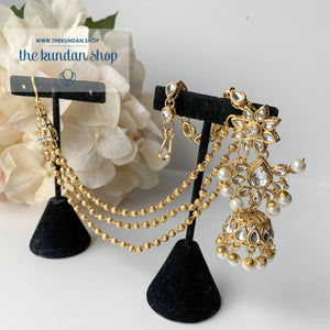 Entitled, Earrings - THE KUNDAN SHOP