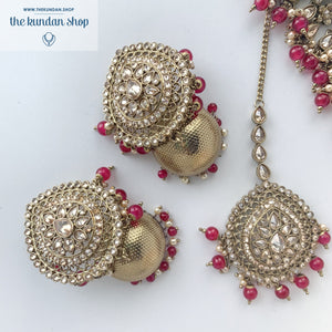 First Impressions - Ruby, Necklace Sets - THE KUNDAN SHOP