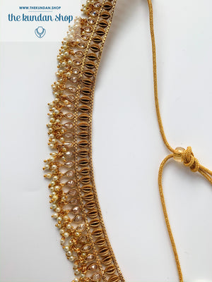 Golden Fever Choker, Necklace Sets - THE KUNDAN SHOP