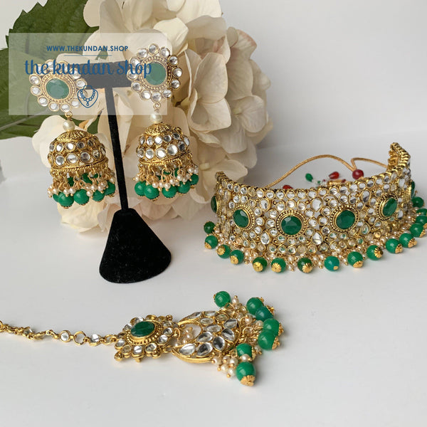 Take A Stand (Green) - Choker Set