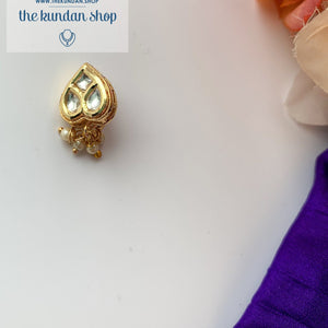 Statement Spade Nath/Nose Clip, Naath - THE KUNDAN SHOP