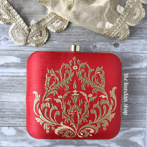The Brides Wallet Clutch THE KUNDAN SHOP