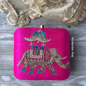 A Special Guest, Clutch - THE KUNDAN SHOP