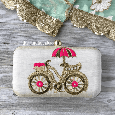 Tag Along v.2, Clutch - THE KUNDAN SHOP