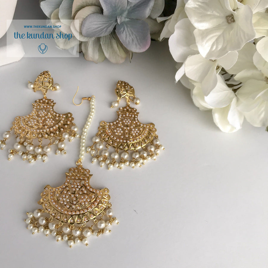 Classic & Timeless - Pearl, Necklace Sets - THE KUNDAN SHOP