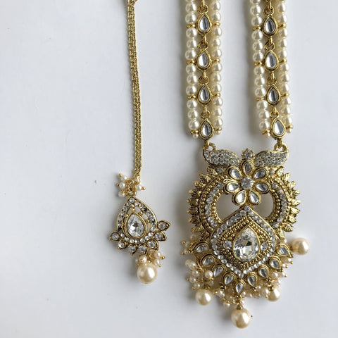 A Sovereign's Raani Haar, Necklace Sets - THE KUNDAN SHOP