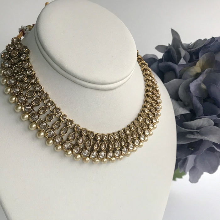 Into the Storm, Necklace Sets - THE KUNDAN SHOP