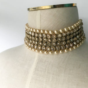 Around the World Choker Set, Necklace Sets - THE KUNDAN SHOP