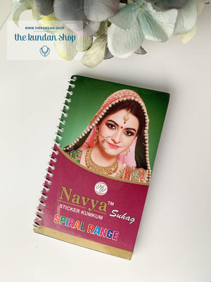 The Bindi Book - 960 bindis, Bindis - THE KUNDAN SHOP