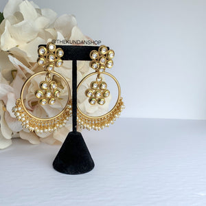 A Ray of Sunshine, Earrings - THE KUNDAN SHOP