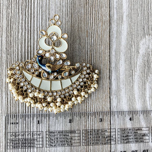 Mint Moorni, Earrings - THE KUNDAN SHOP