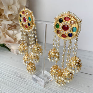 Find Me In Bollywood, Earrings - THE KUNDAN SHOP