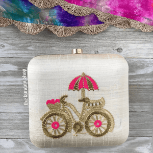 Tag Along, Clutch - THE KUNDAN SHOP