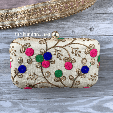 Pop of Colour, Clutch - THE KUNDAN SHOP