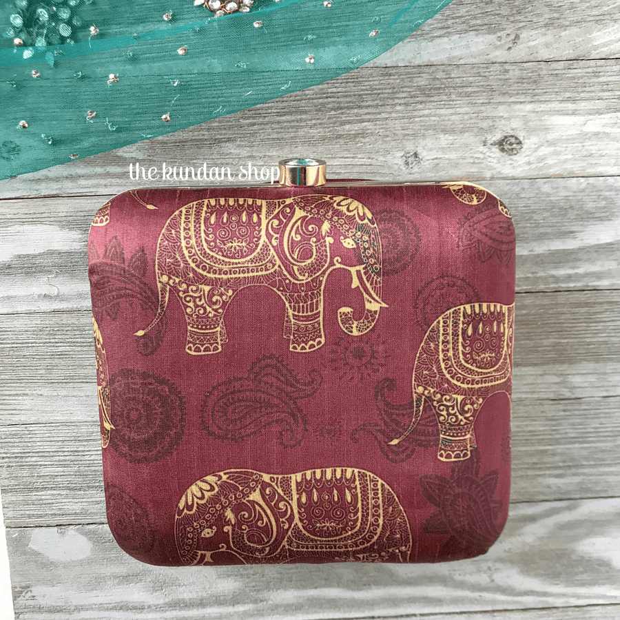 Harmony, Clutch - THE KUNDAN SHOP