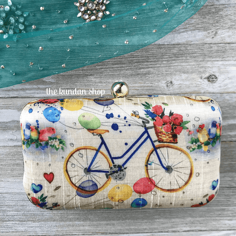 Adventure, Clutch - THE KUNDAN SHOP