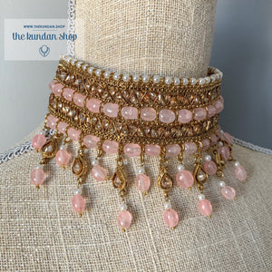 Irresistable - Light Pink, Necklace Sets - THE KUNDAN SHOP
