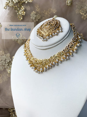 Abundance of Love - Pearl, Necklace Sets - THE KUNDAN SHOP