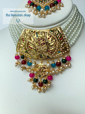 Higher Grounds - Multi, Necklace Sets - THE KUNDAN SHOP