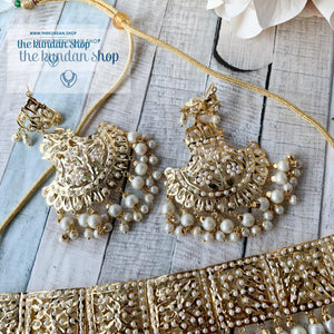 Classic & Timeless - Pearl 2.0, Necklace Sets - THE KUNDAN SHOP
