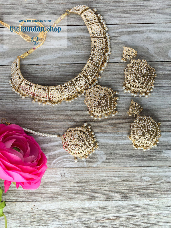 The Perfect Pearl Pendant, Necklace Sets - THE KUNDAN SHOP