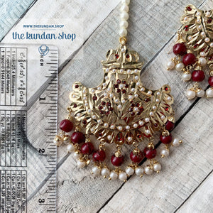 Classic & Timeless - Ruby, Necklace Sets - THE KUNDAN SHOP