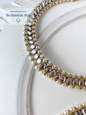 A Small Drop - Anklet, Anklets - THE KUNDAN SHOP