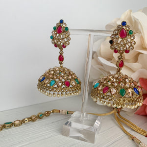 Attentive in Multi Necklace Sets THE KUNDAN SHOP