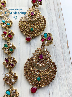 Illustrious in Multi Necklace Sets THE KUNDAN SHOP